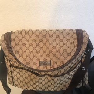 Authentic Gucci diaper bag